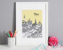 Load image into Gallery viewer, Personalised Vienna Print-5