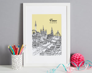 Personalised Vienna Print-5