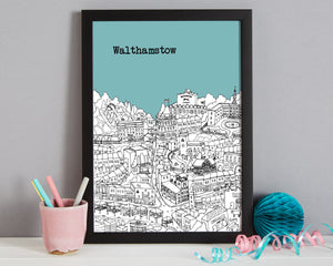 Personalised Walthamstow Print-7