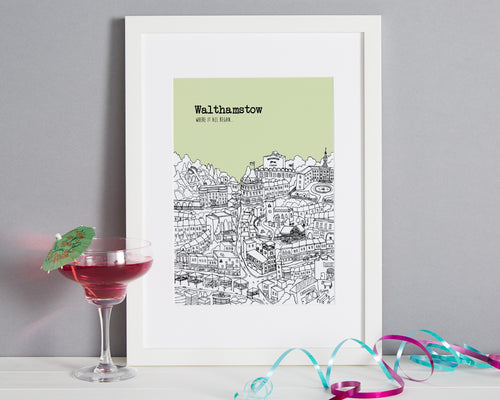 Personalised Walthamstow Print-1
