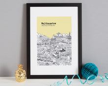 Load image into Gallery viewer, Personalised Walthamstow Print-3