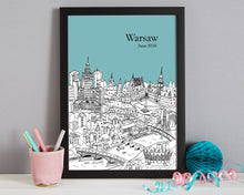 Load image into Gallery viewer, Personalised Warsaw Print-6