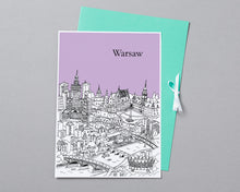 Load image into Gallery viewer, Personalised Warsaw Print-3