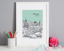 Load image into Gallery viewer, Personalised Warsaw Print-1