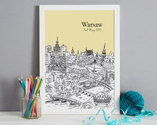 Load image into Gallery viewer, Personalised Warsaw Print-4