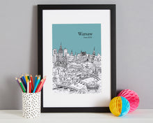 Load image into Gallery viewer, Personalised Warsaw Print-7