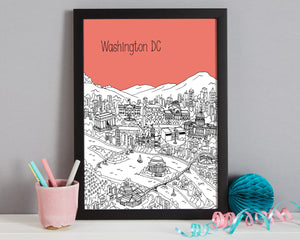 Personalised Washington DC Print-6