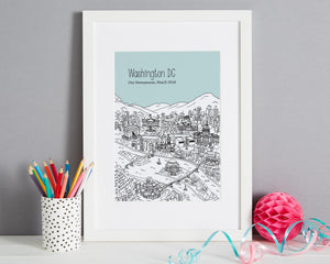 Personalised Washington DC Print-5