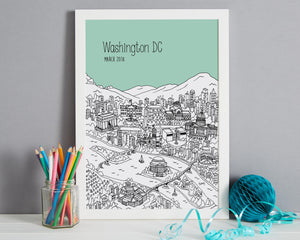 Personalised Washington DC Print-4