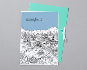 Personalised Washington DC Print-3