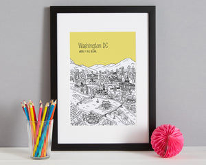 Personalised Washington DC Print-8