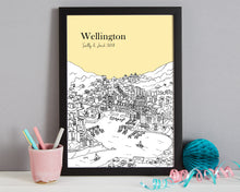 Load image into Gallery viewer, Personalised Wellington Print-3