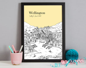 Personalised Wellington Print-3