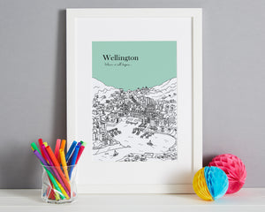 Personalised Wellington Print-7