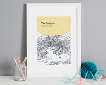 Load image into Gallery viewer, Personalised Wellington Print-1