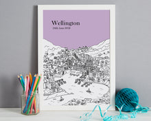 Load image into Gallery viewer, Personalised Wellington Print-6