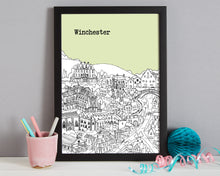 Load image into Gallery viewer, Personalised Winchester Print-6