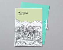 Load image into Gallery viewer, Personalised Worcester Print-4
