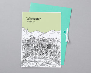 Personalised Worcester Print-4