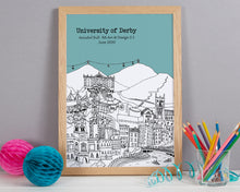 Load image into Gallery viewer, Personalised Derby Graduation Gift