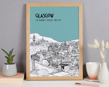 Load image into Gallery viewer, Personalised Glasgow Graduation Gift