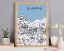 Load image into Gallery viewer, Personalised Guildford Graduation Gift