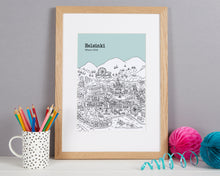 Load image into Gallery viewer, Personalised Helsinki Print