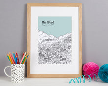 Load image into Gallery viewer, Personalised Hertford Print