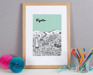 Personalised Kyoto Print