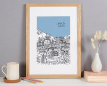 Load image into Gallery viewer, Personalised Leeds Print