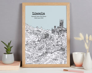 Personalised Lincoln Print