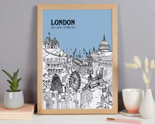 Load image into Gallery viewer, Personalised London Print
