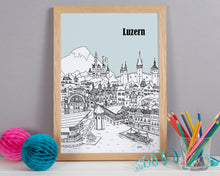 Load image into Gallery viewer, Personalised Luzern Print