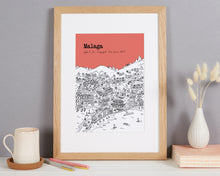 Load image into Gallery viewer, Personalised Malaga Print