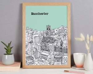 Personalised Manchester Print