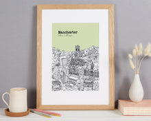 Load image into Gallery viewer, Personalised Manchester Print