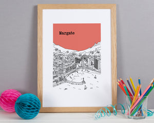 Personalised Margate Print