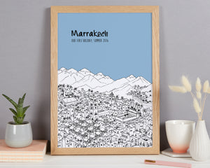 Personalised Marrakech Print