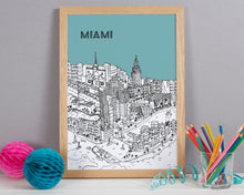 Load image into Gallery viewer, Personalised Miami Print