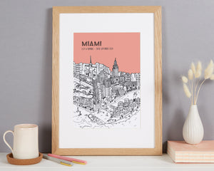Personalised Miami Print