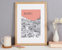 Load image into Gallery viewer, Personalised Muswell Hill Print