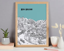 Load image into Gallery viewer, Personalised New Orleans Print