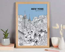 Load image into Gallery viewer, Personalised New York Print