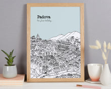 Load image into Gallery viewer, Personalised Padova Print
