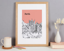 Load image into Gallery viewer, Personalised Perth Print
