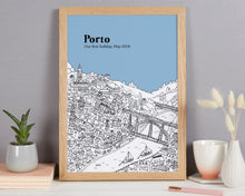 Load image into Gallery viewer, Personalised Porto Print