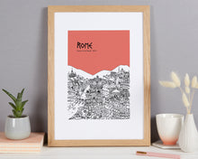 Load image into Gallery viewer, Personalised Rome Print