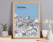 Load image into Gallery viewer, Personalised Rotterdam Print
