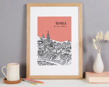 Load image into Gallery viewer, Personalised Seville Print