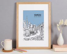 Load image into Gallery viewer, Personalised Shanghai Print